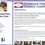 Veiling Shetland Pony Select Sale